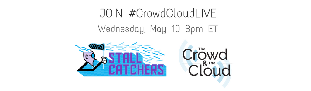 #CrowdCloudLIVE hangout to feature Stall Catchers players, Wednesday 8pm ET