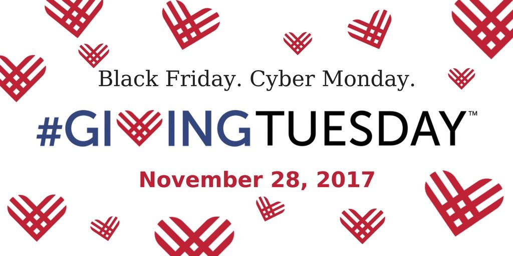 It's #GivingTuesday!