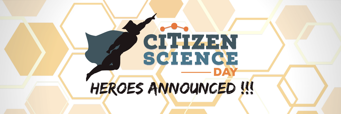 CitSciDayHERO concludes with 12 heroes!