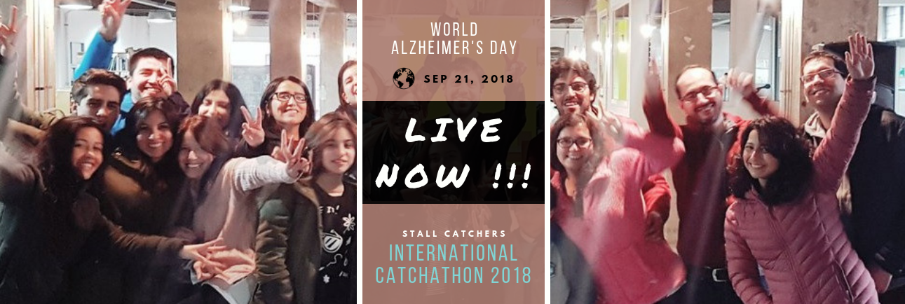 Catchathon 2018 is LIVE NOW!