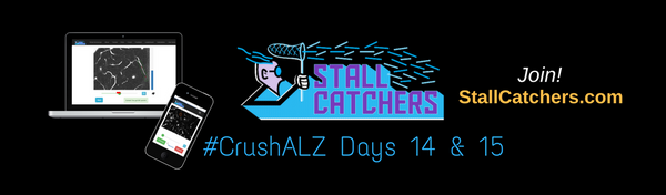 #CrushALZ Daily: more gamers are coming on Day 15! (and quick look at Day 14)