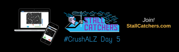 #CrushALZ Daily: Steady progress on Day 5 but MORE EYES STILL NEEDED!