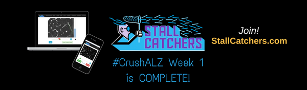#CrushALZ Week 1 wrap up!