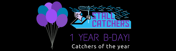 Stall Catchers are 1! Announcing catchers of the year