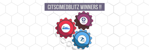 Winners (and prizes) of CitSciMedBlitz 🏆 🎉 (updated)