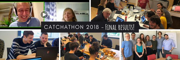 Catchathon 2018 concludes - THANKS TO ALL who participated! 💜