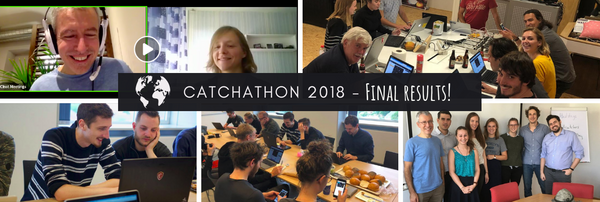 Catchathon 2018:  final & country leaderboards! 🌍🌏🌎