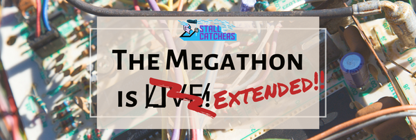 T̷h̶e̸ ̵#Megathon fun is extended until Sunday 11.59pm !! (n̴o̵ ̷r̴e̴a̷s̸o̷n̸.. 😳)